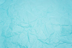 Blue creased paper Stock Photos