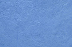 Blue creased tissue paper background Stock Image