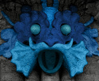 Blue creature Royalty Free Stock Photo