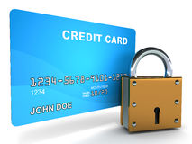 Creditcard safety Stock Photography