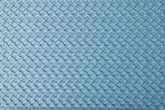 Blue crinkle fabric Stock Images