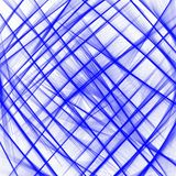 Blue criss Cross net pattern line on white background . Vector illustration for wallpaper prints and printable materials .