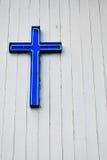 blue cross Στοκ Φωτογραφίες