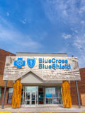 Blue Cross Blue Shield Exterior and Logo Stock Photography