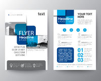 Blue cross graphic element Brochure cover Flyer Poster design Layout Stock Photos