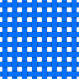 Blue crossed ribbons. Seamless pattern Stock Photo