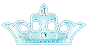 Blue crown Royalty Free Stock Photos