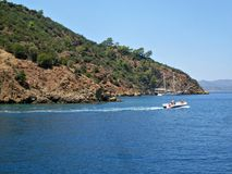 Blue Cruise in Turkey Royalty Free Stock Photos