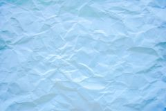Blue crumpled paper texture. For background use Stock Photos