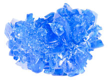 Blue crystal Stock Photos