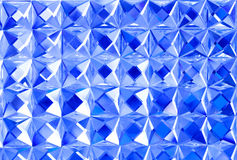 Blue crystal Stock Photography