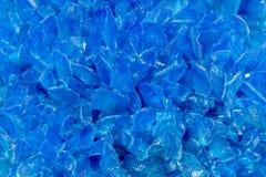 Blue crystal background Stock Photo