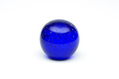Blue Crystal Ball Stock Images