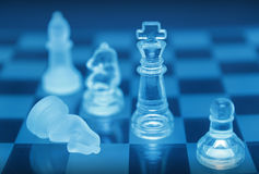 Chess pieces royalty free stock images