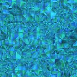 Blue crystal patten royalty free illustration