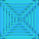 Blue crystal patten stock illustration