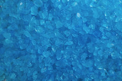 Blue Crystal Rock Background Royalty Free Stock Images