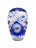 Blue Crystal Vase Royalty Free Stock Image