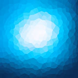 Blue crystallization pattern design Stock Images