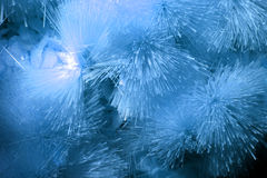 Blue Crystals Background Stock Images