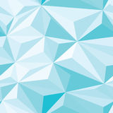 Blue Crystals Seamless Pattern Stock Images