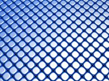 Blue cube luxury shiny background pattern Stock Image