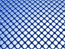 Blue cube luxury shiny background pattern. 3d illustration Stock Image