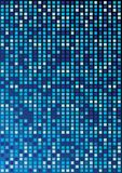 Blue Cubes. Abstract Background - Cubes in Shades of Blue on Gradient Background / Vector vector illustration