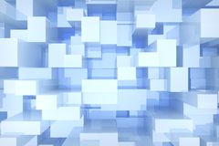 Free Blue Cubes Background Royalty Free Stock Image - 40260146