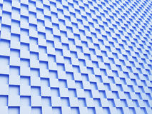 Blue cubes background. Abstract blue cubes background, 3d render Royalty Free Stock Images
