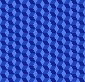 Blue Cubes Pattern Background Royalty Free Stock Image
