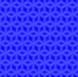 Blue cubes pattern seamless background vector. royalty free illustration