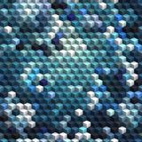 Blue cubes seamless abstract background Royalty Free Stock Images