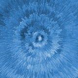 Blue cubic pattern Stock Photo