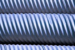 Blue Culverts Royalty Free Stock Photography