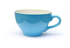 Blue cup Royalty Free Stock Photography