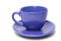 Blue_cup Photographie stock