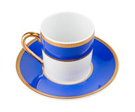 Blue cup Royalty Free Stock Image