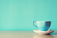 Free Blue Cup Royalty Free Stock Photography - 43406047