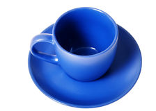 Blue cup Royalty Free Stock Photo