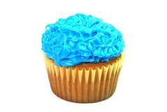 Blue Cupcake Stock Image