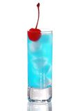 Blue Curacao cocktail Royalty Free Stock Image