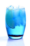 Blue Curacao Drink Stock Images