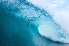 Blue Curls Stock Photo