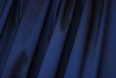 Blue curtain background Stock Photo