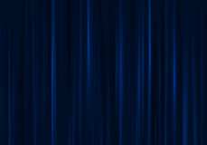 Blue curtain. Background image of blue velvet stage curtain Stock Photo