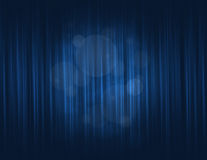 Blue curtain Stock Photo