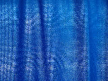 Blue curtain Royalty Free Stock Image