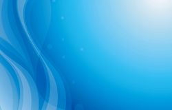 Blue Curve Background Royalty Free Stock Images