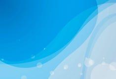 Blue Curve Background Stock Image